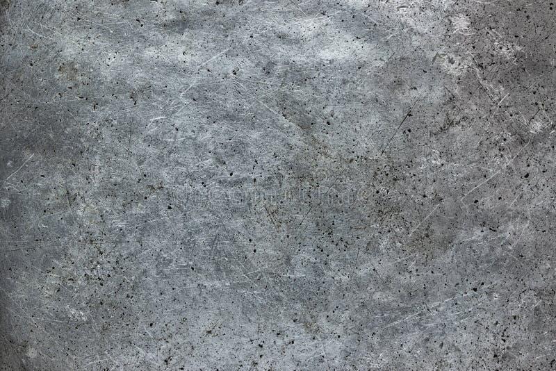 Rocznika metalu tekstury zakończenie, stalowego talerza powierzchnia, tło obrazy royalty free