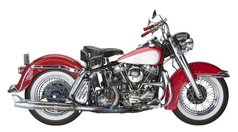Rocznika motocykl zdjęcia royalty free
