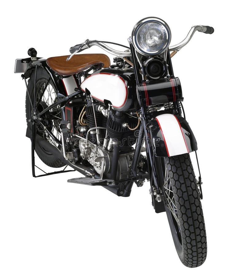 Rocznika motocykl fotografia stock