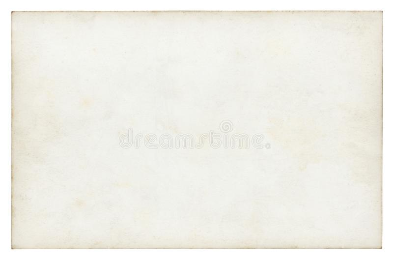 Rocznika papierowy tło odizolowywający fotografia royalty free