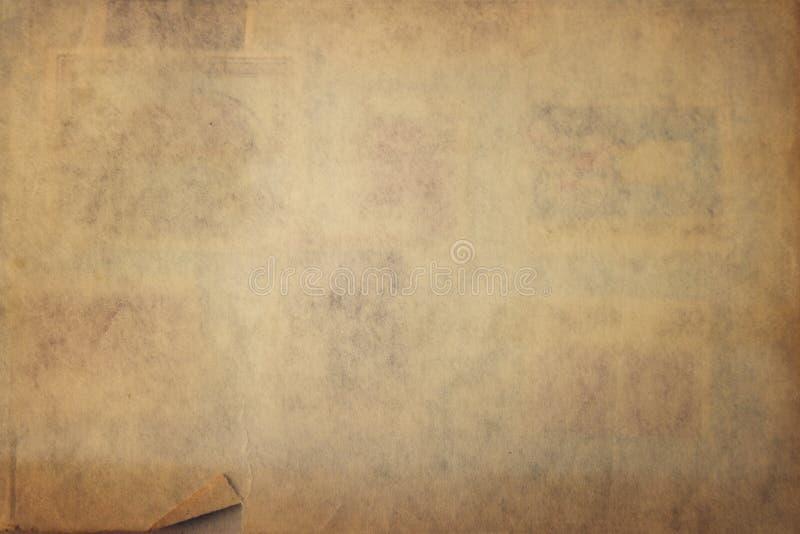 Rocznika papieru tekstura zdjęcie royalty free