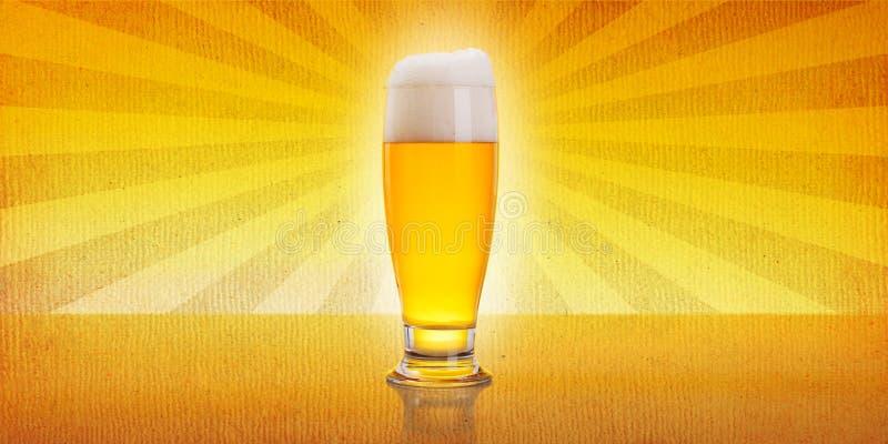 Rocznika piwo zdjęcie stock