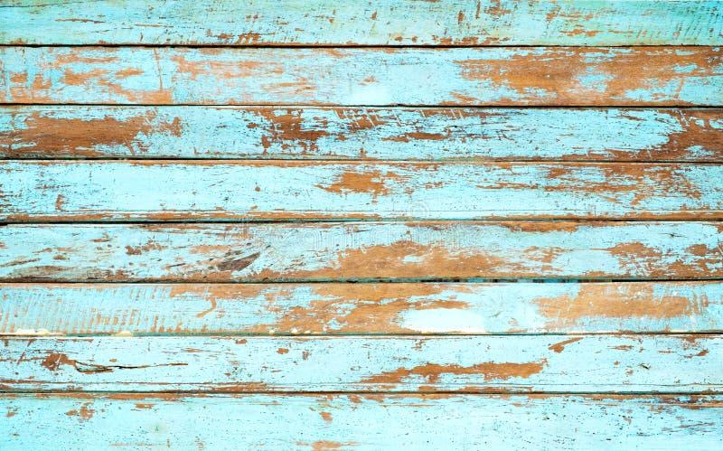 Rocznika plażowy drewniany tło fotografia royalty free