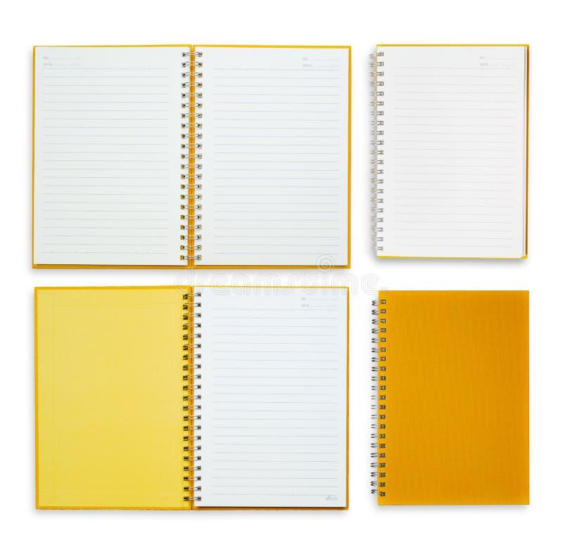 Rocznika pomarańcze papieru notatki   obraz stock