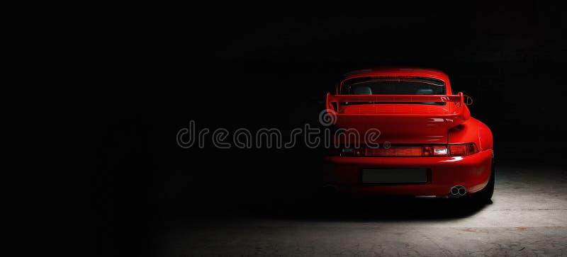 Rocznika Porsche 911 samochód zdjęcie royalty free