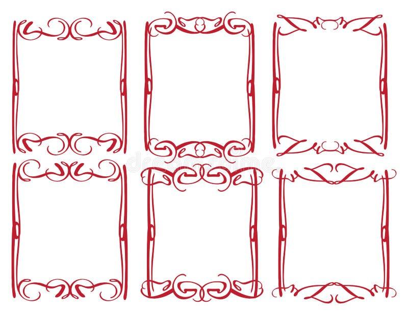 Download Rocznika Projekta Dekoracyjna Granica Ilustracja Wektor - Obraz: 33031368