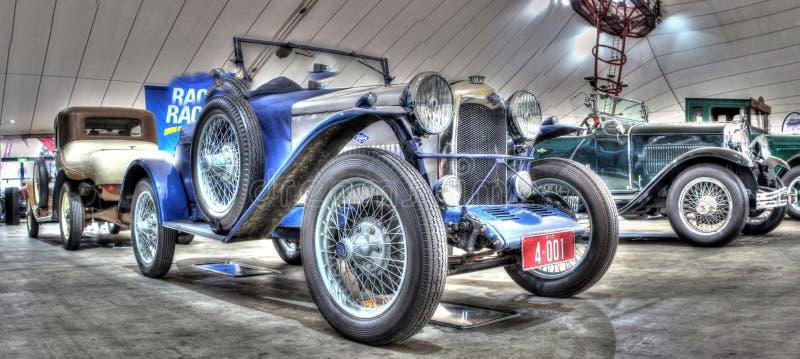 Rocznika Riley Brytyjski budujący motorcar obrazy stock