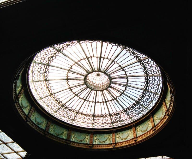 Rocznika round dach przy Waverley stacją zdjęcie stock