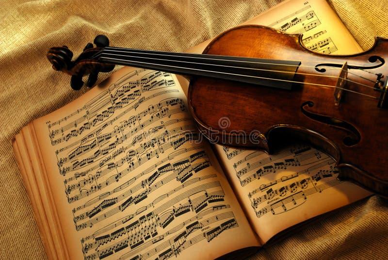 rocznika skrzypce zdjęcia royalty free