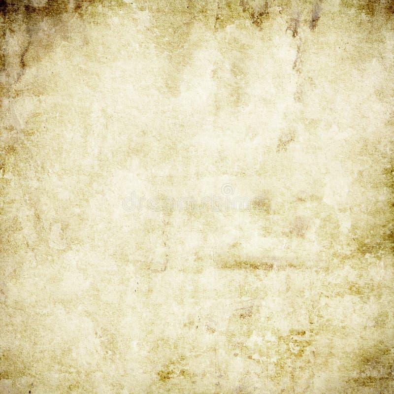 Rocznika stary papierowy tło, papierowa tekstura szorstka, szorstki, punkty, grunge beżowy, retro, brąz ilustracja wektor