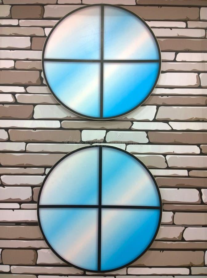 Rocznika tła okno drewniany styl zdjęcie royalty free