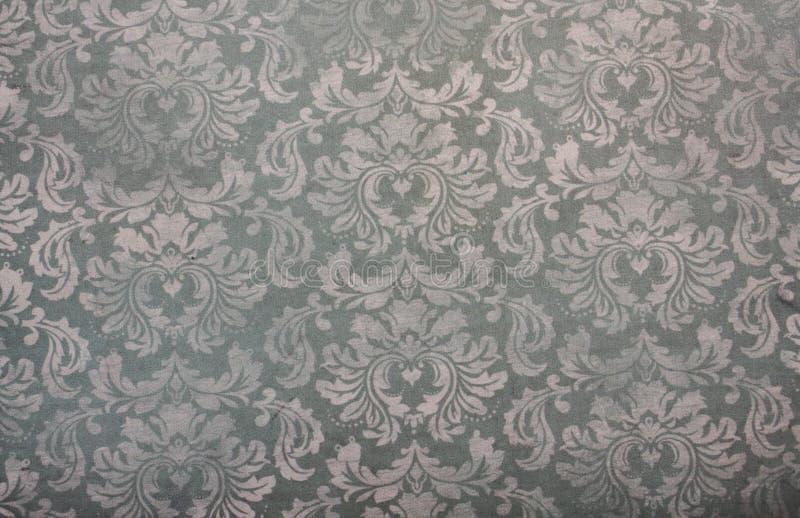 Rocznika tapetowy kwiecisty deseniowy tło zdjęcia stock