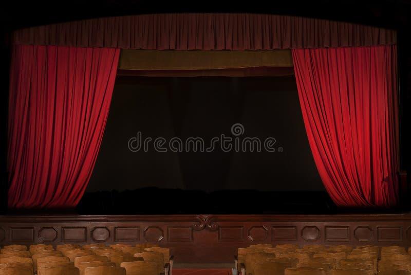 Rocznika teatr zdjęcia stock