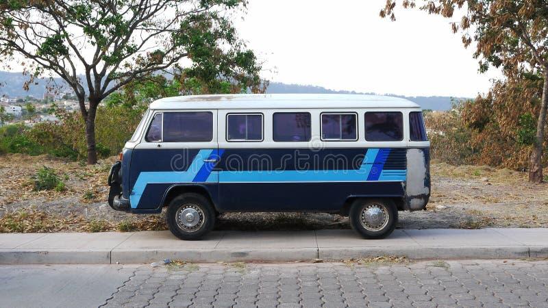 Rocznika VW autobus obrazy stock