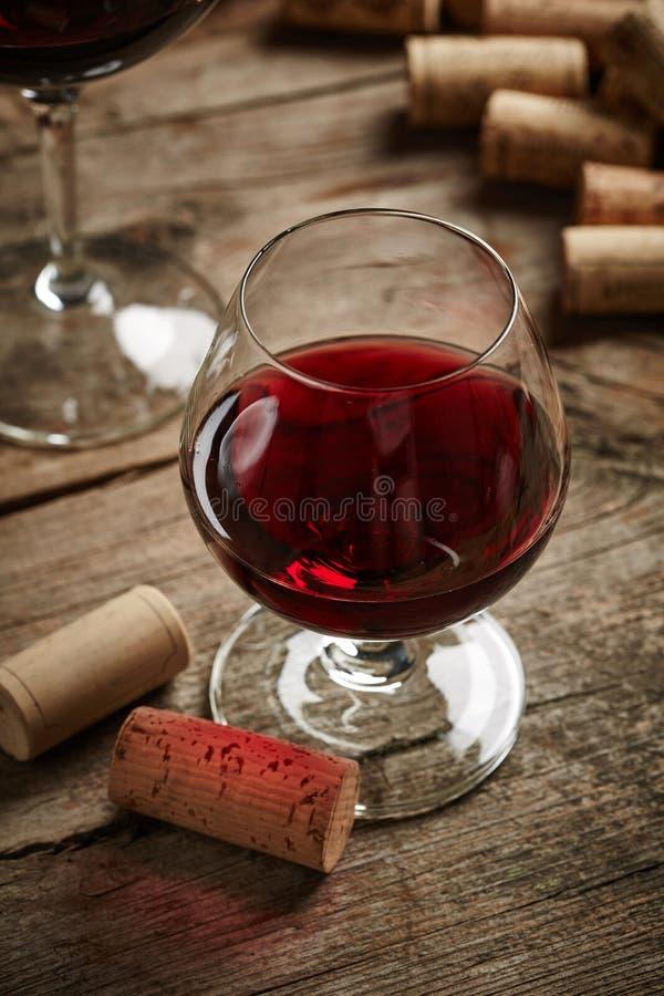 Rocznika wina wciąż życie zdjęcia stock