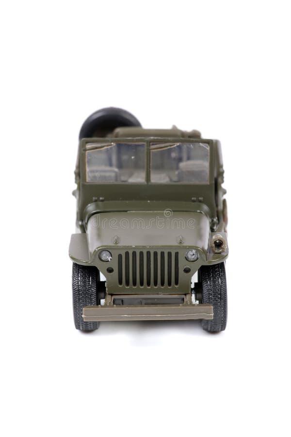 rocznika wojskowego dżip zdjęcie stock