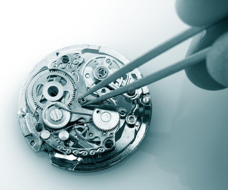 Rocznika zegarka machinalny kaliber zdjęcia royalty free