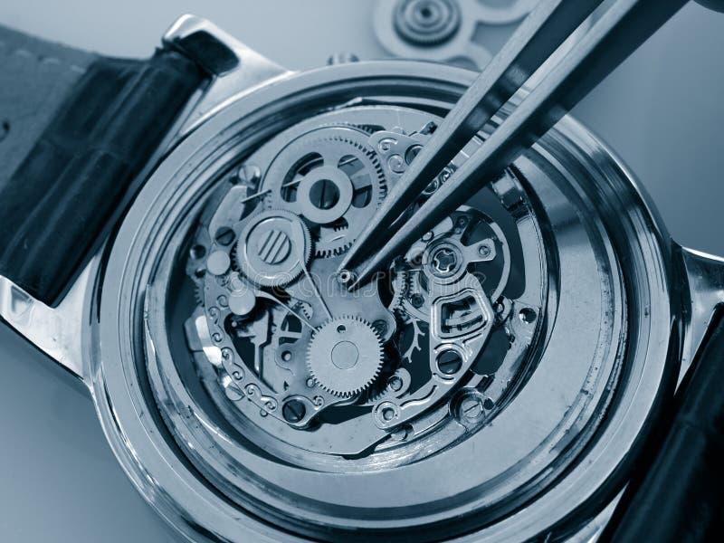 Rocznika zegarka machinalny kaliber obrazy royalty free