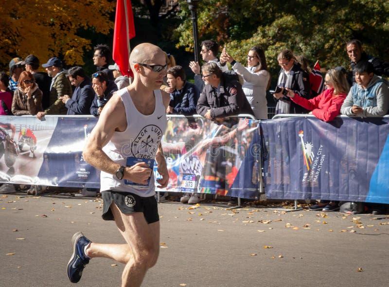 Roczny Miasto Nowy Jork maraton zdjęcia stock