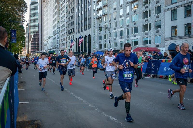Roczny Miasto Nowy Jork maraton zdjęcie stock