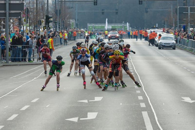 Roczny 37th Berliński Przyrodni maraton obraz stock