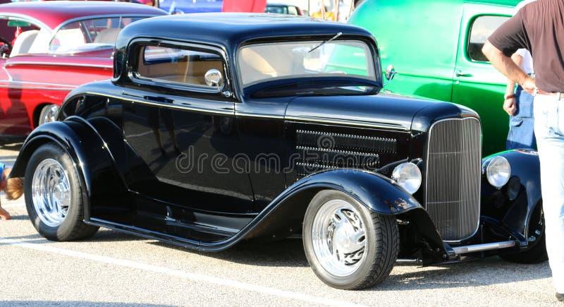 Rod Muscle Car quente clássico americano antigo inteiramente restaurado fotografia de stock