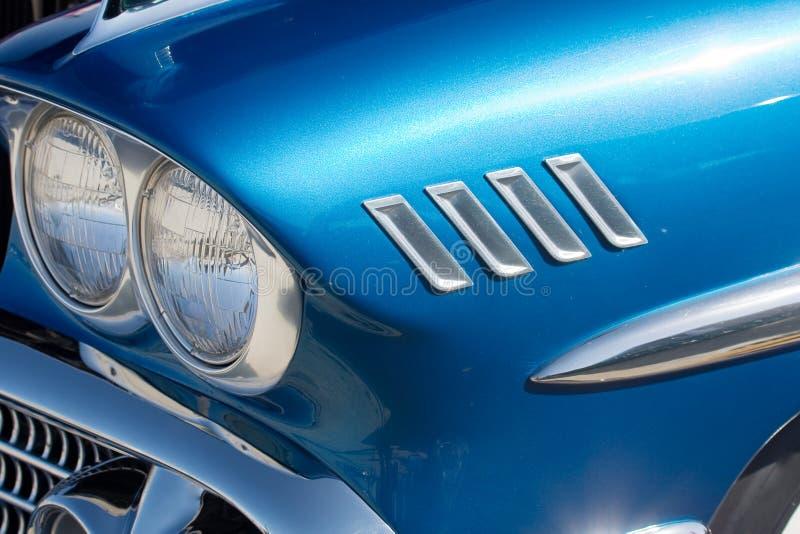 Rod quente azul fotografia de stock royalty free
