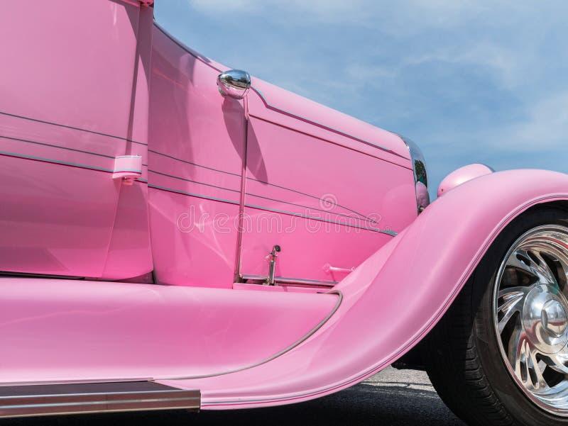 Rod quente cor-de-rosa imagens de stock