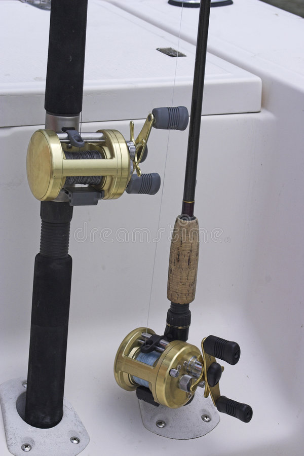 Rod and Reel stock photos