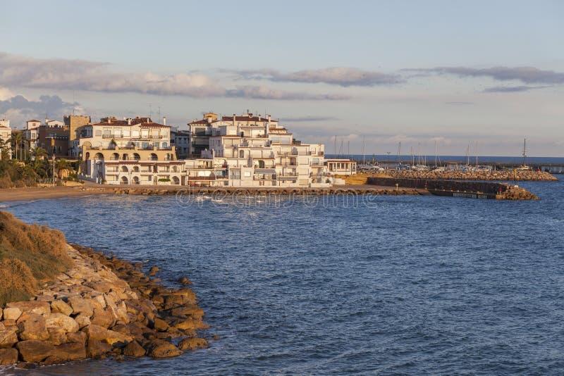 Roda Bera, Catalogna, Spagna fotografie stock libere da diritti