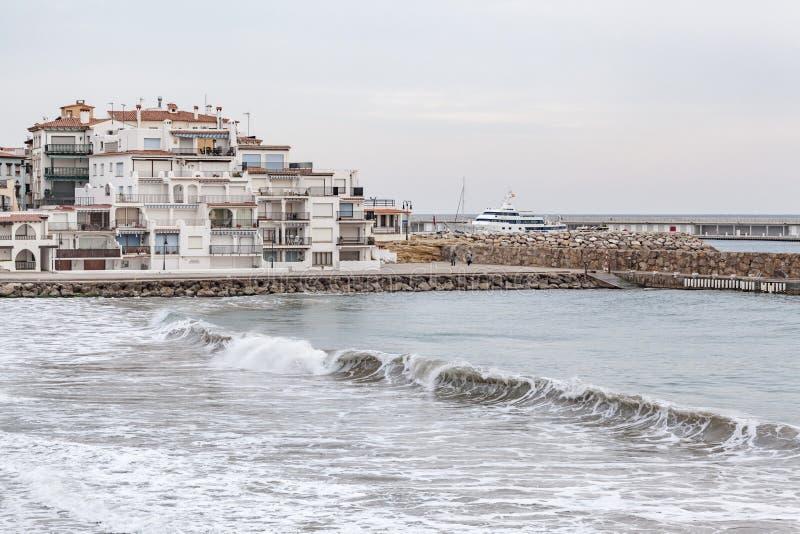 Roda Bera, Catalogna, Spagna fotografia stock