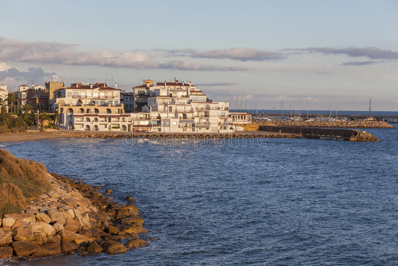 Roda Bera, Catalonia, Espanha fotos de stock royalty free