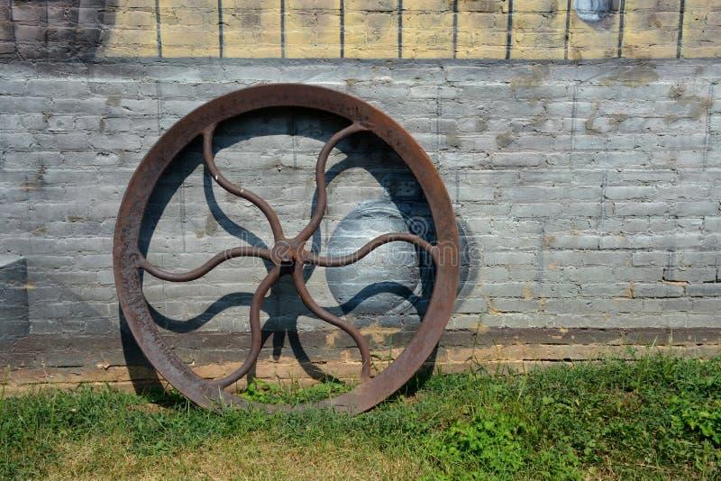 Roda da bomba imagem de stock