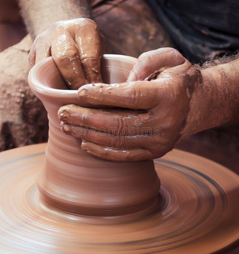 Roda da cerâmica foto de stock royalty free