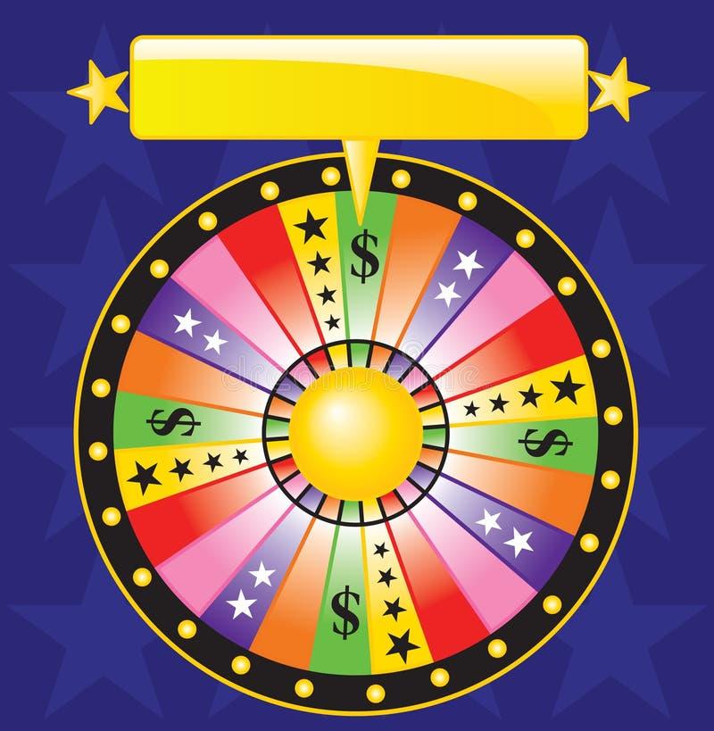 roda da fortuna ilustração do vetor