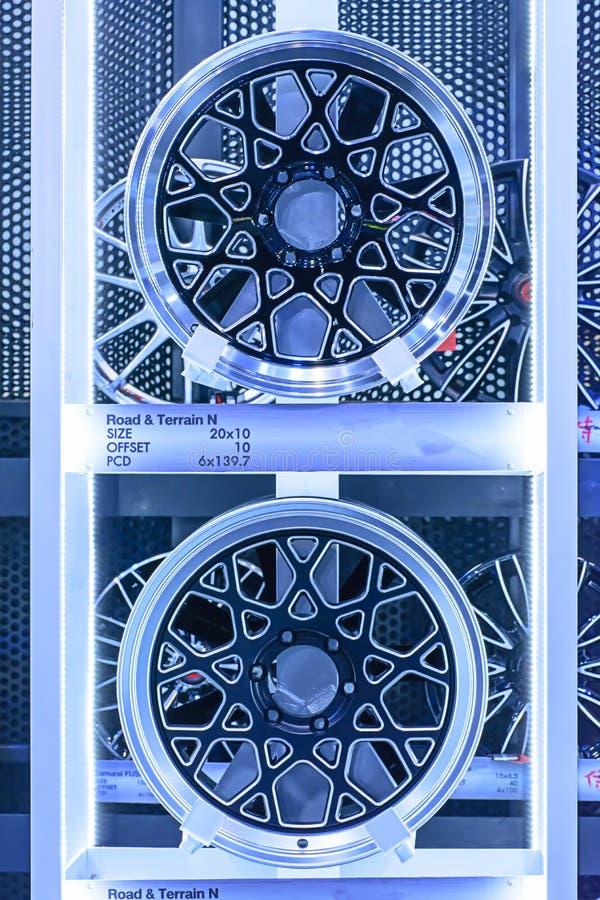 Roda da liga do magnésio foto de stock royalty free