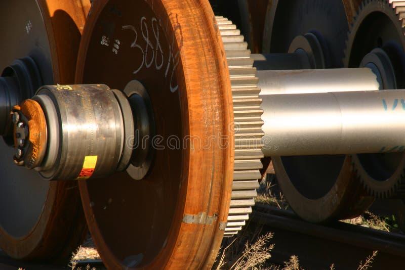 Roda da movimentação locomotiva fotografia de stock royalty free