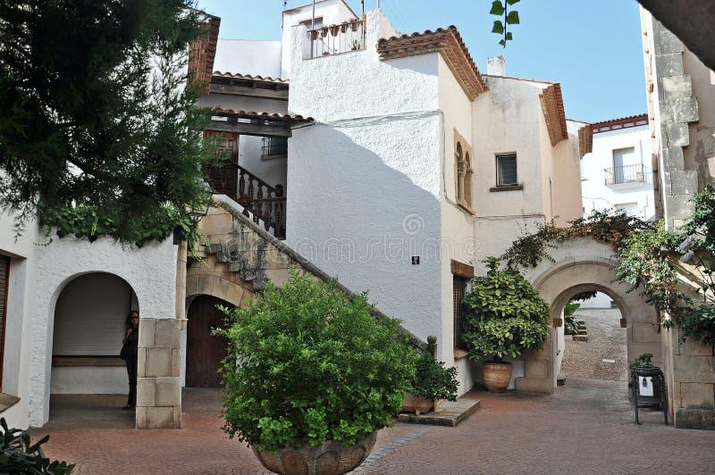 Roda de Bara, Tarragona, Spagna fotografie stock libere da diritti