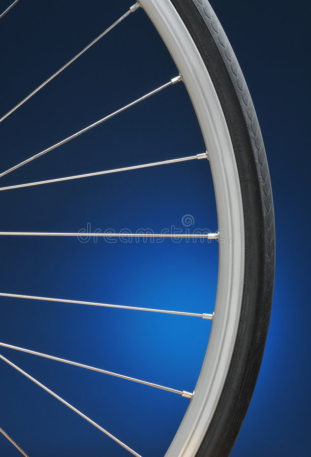 Roda de bicicleta fotos de stock