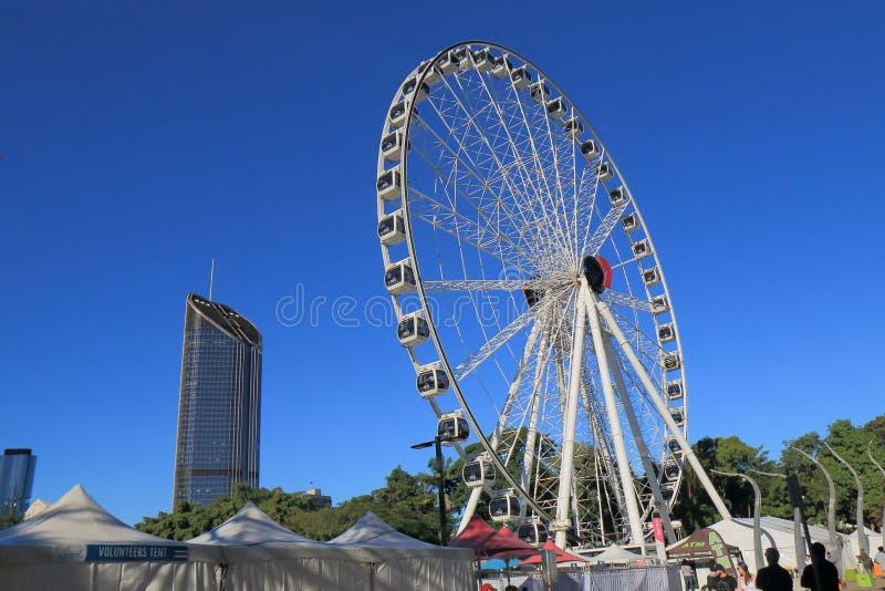 Roda de Brisbane Austrália imagens de stock royalty free