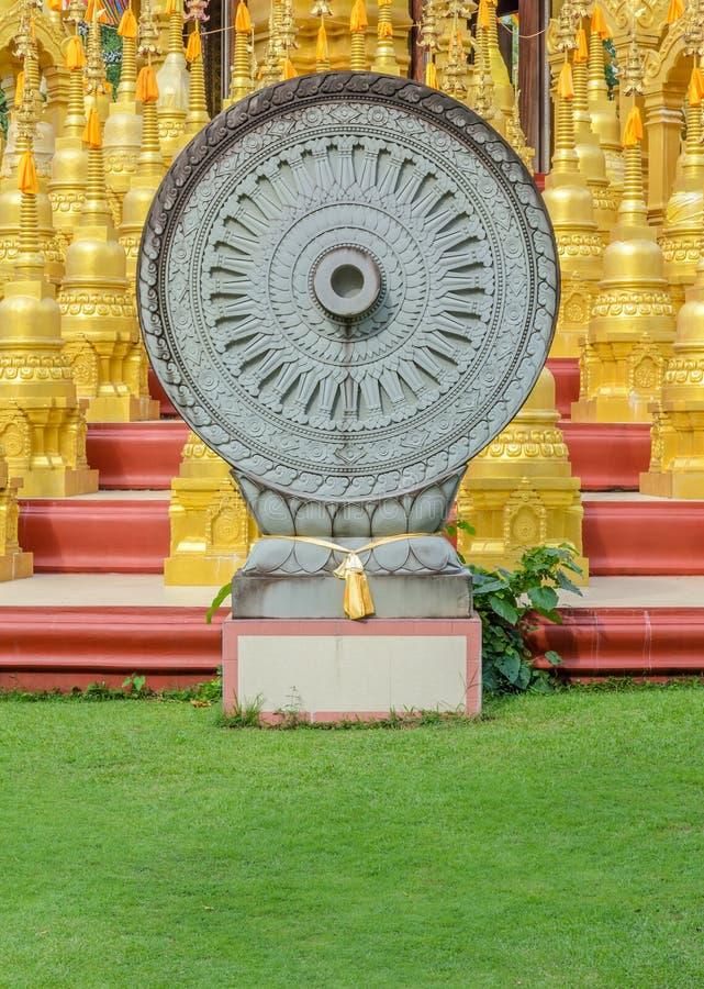 Roda de Dhamma imagem de stock royalty free