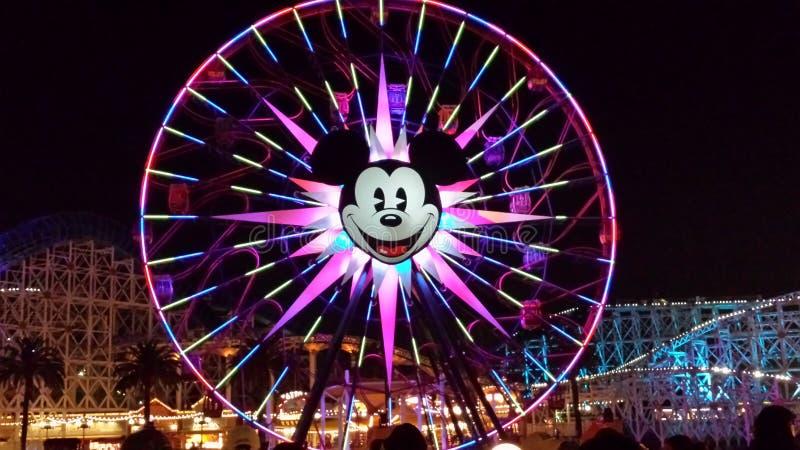 Roda de Disney Ferris fotografia de stock royalty free