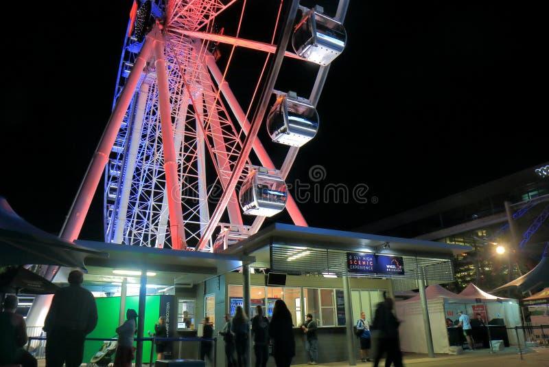 Roda de Ferris Brisbane Austrália foto de stock