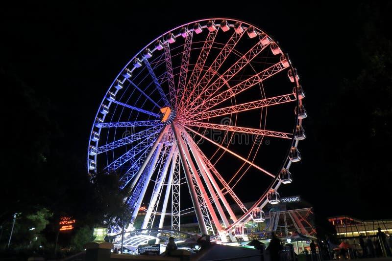 Roda de Ferris Brisbane Austrália fotos de stock