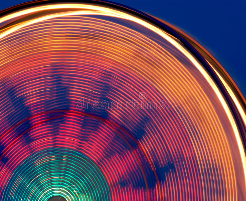 Roda de Ferris colorida do carnaval fotos de stock