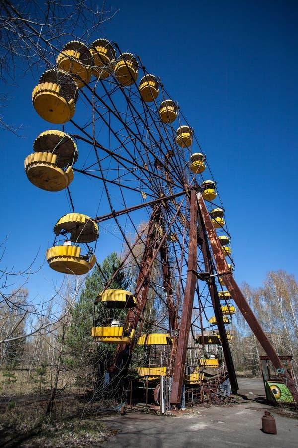 Roda de ferris de Chernobyl fotos de stock