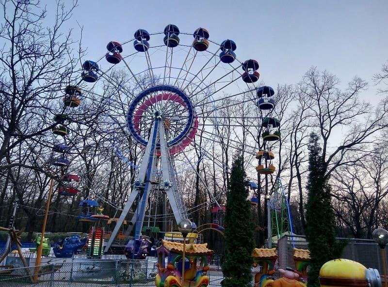 Roda de Ferris Ucrânia fotos de stock royalty free