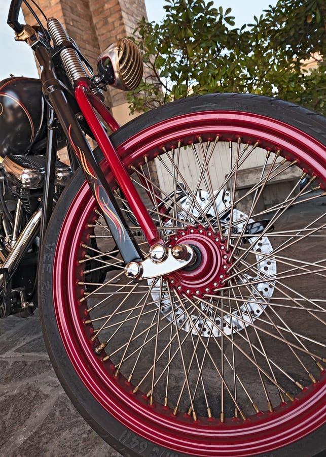 Roda de Harley Davidson personalizado imagens de stock