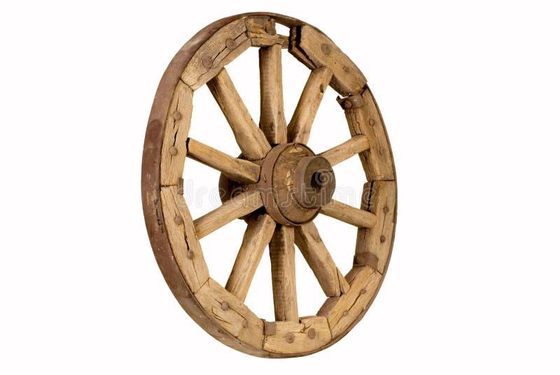 Roda de madeira antiga 2 imagem de stock royalty free