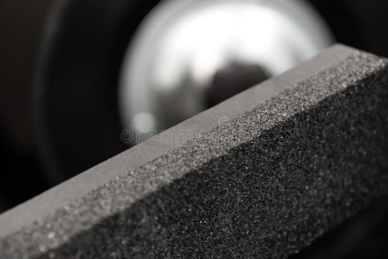 Roda de moedura para nivelar a pedra de moedura fotos de stock royalty free